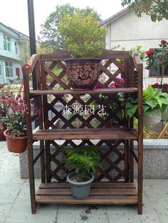 10 Best Patio Plant Shelves And Pots Images Plant