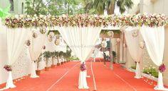 Gorgeous Wedding Canopy Entrance Wedding Decor
