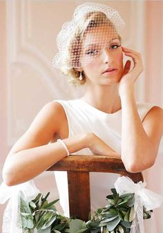 Bridal Looks And Wedding Inspiration From UK Wedding Vendors. stunning bridal hair styles, wedding gowns and florals to inspire you. Romantic Wedding Hair, Vintage Wedding Hair, Short Wedding Hair, Wedding Hair And Makeup, Bridal Hair, Wedding Veils, Wedding Vendors, Weddings, Wedding Hairstyles With Veil