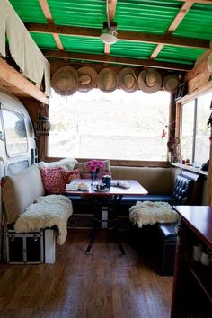 Julie's Unbelievable Airstream Trailer, Shed and Art Studio — Green Tour