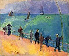 Les pêcheurs - (Raoul Dufy)