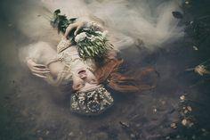 dorota gorecka dreamy photography ophelia water model