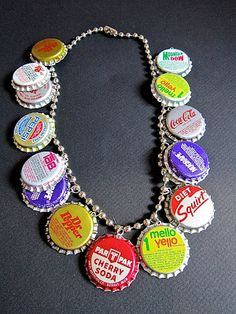 CAN'T STOP MAKING THINGS: Pop Bottle Necklace