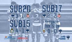 ⚽[Crónica Fuerzas Básicas] 'No pierden paso Segunda División y Sub17 de #Rayados'