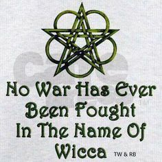 Something I have thought - or in the name of paganism, druidism, etc