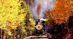 Journey back in time with a ride on one of Colorado's great narrow gauge railroads. Be astounded by the Devil's Gate High Bridge, Rocky Mountain views and the engineering marvel that is the Georgetown Loop. Just 45 miles west of Denver on I-70. Open May - December.