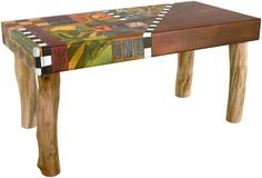 3 Foot Wood Bench