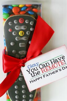Happy Father's Day Remote Cookies for Dad