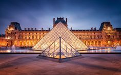 The Louvre - Never get's old visting this incredible site