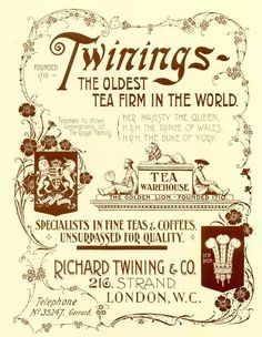 Tea time vintage