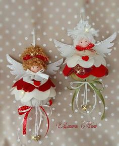 Best 12 Alberta Hoff's 744 media content and analytics – SkillOfKing. Christmas Fairy, Christmas Love, Christmas Angels, Handmade Christmas, Festive Crafts, Christmas Projects, Holiday Crafts, Felt Christmas Decorations, Felt Christmas Ornaments