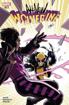 All-New Wolverine n°17 (08.02.2017) // ENEMY OF THE STATE II CONTINUES! The world-trotting WOLVERINE must find a way to face her fears and break free of the hold the TRIGGER SCENT has over her. Haunted by the death left in her wake, LAURA will need GABBY and her own resolve more than ever before in order to break free of this torturous holdover from her past! GUEST STARRING GAMBIT!  #all #new #wolverine #ùmarvel #comics