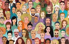 Dwa procent ludzi na świecie ma prozapagnozję - nie rozpoznaje twarzy. W skrajnych przypadkach obca wydaje im się nawet własna twarz Disney Characters, Fictional Characters, Disney Princess, Art, Art Background, Kunst, Performing Arts, Fantasy Characters, Disney Princesses