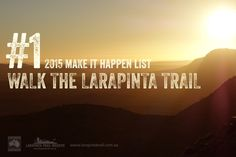 The long Larapinta Trail is one of Australia's most spectacular bushwalking and trekking experiences. It is also one Australia's newest trails and is quickly emerging as one of the most popular trails in Australia and the world. Stuff To Do, Things To Do, Make It Happen, Running Away, Trekking, Mother Nature, Trail, To Go, Hiking