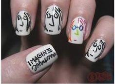beatles nails   Tumblr