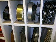 Shelves for Pans