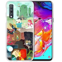 Anime Case For Samsung Galaxy A50 A70 A20e A40 A30 A20 A10 A51 A70s A9 A7 2018 Hard Clear PC Phone Coque Cover Adventure Time Half-Wrapped Cases  Samsung Cases, Adventure Time, Galaxies, Wrapping, Anime, Finn The Human, Cartoon Movies, Anime Music, Animation