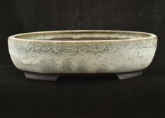 Chuhin Oval  Matt White Glaze  20.0 x 16.7 x 5.5 cm external by Walsall Studio