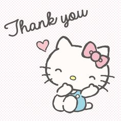 #HelloKitty #ThankYou (^人^)