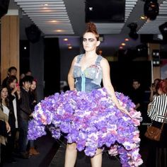 14 Cool Runway Looks Made From…Rubbish #hair #beauty on www.salonmagazine.ca