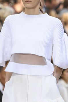 Obsessed with clear fabrics? Well Chloé Spring 2013 may be the reason why?....x