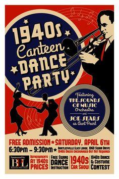 1940s swing band set ups - Google Search