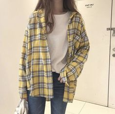 3907085ddf New Shirts Plaid Pocket Casual Loose Chic Women Daily Retro Fashion Womens  Batwing Sleeve All-match Korean Style Student Summer