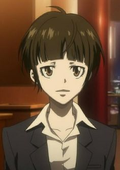 Psycho-Pass, I loved that the female protagonist is actually modest! :D