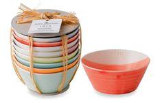 For Small Servings at Parties: Royal Doulton Tapas Bowls.
