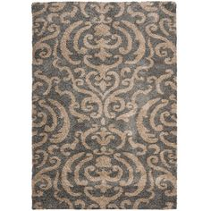 Safavieh Ultimate Dark Grey Shag Rug (8' x 10') - Overstock™ Shopping - Great Deals on 7x9 - 10x14 Rugs