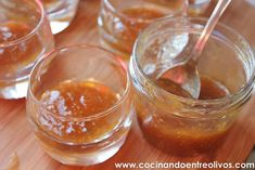 Receta paso a paso - Cocinando Entre Olivos Canapes, Pudding, Desserts, Food, Fig Jam, Christmas Starters, Sauces, Cooking Recipes, Hors D'oeuvres