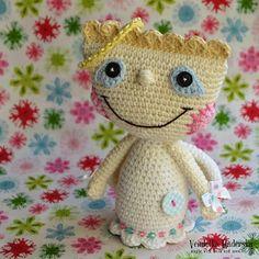 crochet angel by Vendulka Maderska