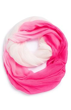 Betsey Johnson 'Gauze & Effect' Infinity Scarf (Girls) | Nordstrom