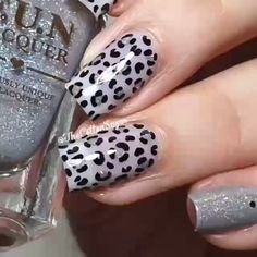 Nails Art Ideas Trend 2020 Trend Nails and Shape Ideas Nail Art Designs Videos, Nail Art Videos, Gel Nail Designs, Simple Nail Designs, Animal Nail Designs, Nails Design, Animal Nail Art, Dot Nail Art, Nail Art Blog