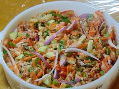 No te pierdas esta ENSALADA DE ATUN!!!. Aprende a hacer cientos de recetas ensaladas ahora