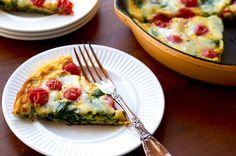 Simplify your morning with our frittata recipe using kitchen staples, egg, veggies and cheese. This breakfast-worthy egg dish is ready in 20 minutes or less, and you one need one piece of equipment to make it: an oven-friendly skillet.Serve with a side of nonfat plain Greek yogurt and slice of whole-grain toast for a boost …