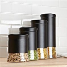 Kitchen Stuff Silo Set Of  Canisters