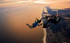 Skydiving – A Great Adventure Activity For People Who Love To Soar In The Skies  >>> Skydiving is an extremely enthralling adventure activity that is steadily gaining much popularity in India as a recreational sport. For people who dream of flying in the sky like a bird, #skydiving can prove to be a fulfilling experience.   #SkydivingTraining, #SkydivingCourses, #SoloSkydiving, #SkydivingCost #India