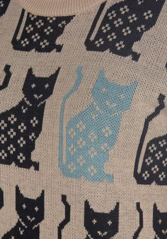 @Christine Casale Sweater cats! #print