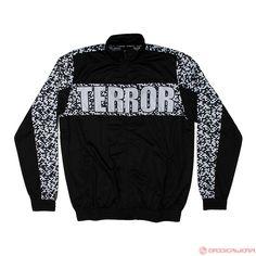 Terror Trainingsjacket MTF Noise (Black/White) | 814-002-050