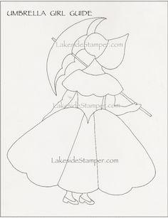 Αποτέλεσμα εικόνας για parasol girl drawing