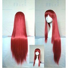 stilvolle Cosplay Perücke 18 cm lang gerade synthetische Haarperücken animierte Mädchen Karikatur Perücken Party Perücke – EUR € 11.99
