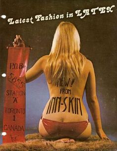 InnSkin Latex fashion cataloge from the 70ties