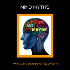 Mind Myths: Psychologist Claudia Hammond slays common myths about the brain and its workings. You can listen to this excellent BBC radio broadcast in full via the following link.  http://www.bbc.co.uk/radio/player/b016wzs9 #HumanMind #psychology