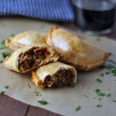 Argentinian Beef Empanadas ... will be making these in the winter for sure. Or just going to Argentina. Why not?