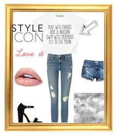 """Style icon"" by ximena-olivo on Polyvore featuring Frame Denim, awesome and love"