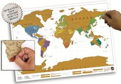 Scratch Map - scratch off where you´ve been