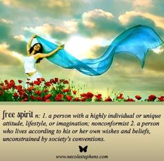 Free Spirit  #spirituality #attitude #live #life #positivevibes #positivethoughts #wishes #beliefs #noconstraints