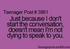 Yess . . so talk to me firstt hunn (: