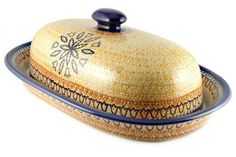 Polish Pottery Fall Moon Bread Container *** Be sure to check out this awesome product.